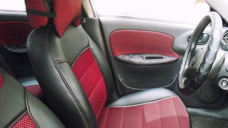 Перетяжка сидений ланос своими руками